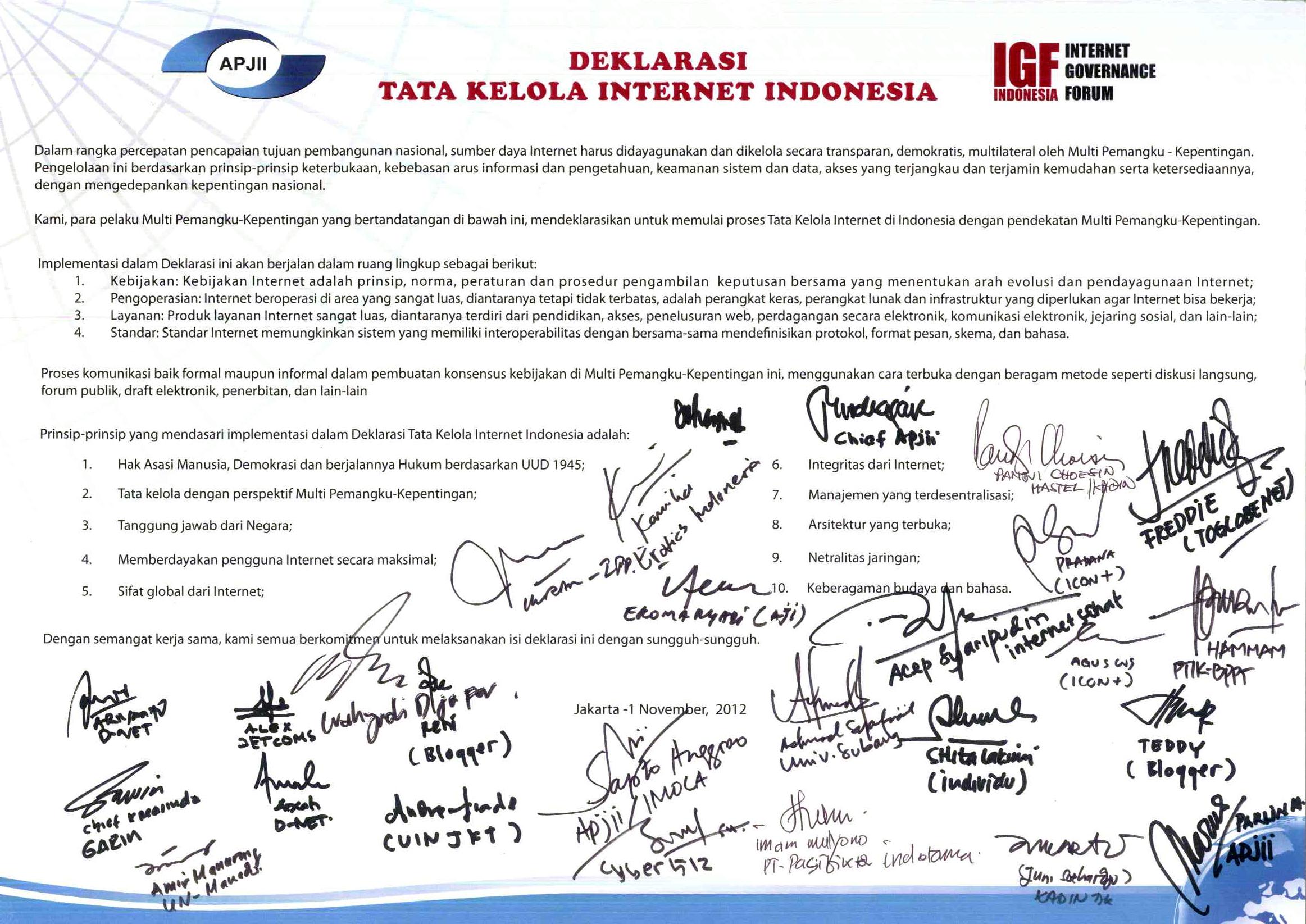 Deklarasi ID-IGF 2